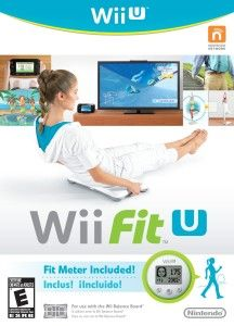 Nintendo Wii Fit U Game Pad w Fit Meter. Wii U Fitness Balance Board Accessories Kirby Nintendo, Nintendo Wii U Games, Wii Fit Games, Playstation, Box Software, Balance Board, Game Sales, Strength Workout, Cultura Pop