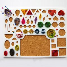 PROMOTION! New Arriaval,Paper Quilling Tool,Large Size Workboard,Template Board, Cork Board with Straight Pins Quilling Kit, Quilling Work, Quilling Patterns, Quilling Supplies, Paper Quilling Designs, Paper Quilling Tutorial, Quilled Paper Art, Quilling Paper Craft, Paper Beads
