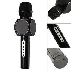 Amazon.com : Diamondo Mini Magic Wireless Karaoke Player Microphone Bluetooth Speaker (Rose) (Black) : Movies & TV