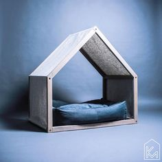 Modern dog house with a linen cover Dog bed Pet house Pet bed Pet furniture Dog bed house House bed Modern Dog Houses, Cool Dog Houses, Dog House Bed, House 2, House Beds, Dog Milk, Dog Furniture, Furniture Removal, Furniture Online