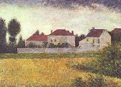 Georges Seurat: Ville d'Avray