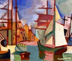 Marseille Artwork by André Lhote