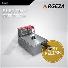 Jual Mesin Electric Deep Fryer, dilengkapi dengan thermostat dan lampu indikator. Material mesin terbuat dari stainless steel sehingga tidak mudah karat dan higienis. Cocok digunakan untuk menggoreng nugget, ayam goreng, kentang dsb . . Spesifikasi Mesin: Power: 2.5 Kw Voltage: 220V-50/60 Hz Kapasitas: 2.5 Liter Ukuran mesin: 31.5x42.5x29.5 cm Berat: 4 Kg . Harga: Rp725.000,- . #mesinusaha #caramembuatayamcrispi #fryer #ayamgoreng #kentanggoreng #jualmesin #kuliner #kulinerbandung…
