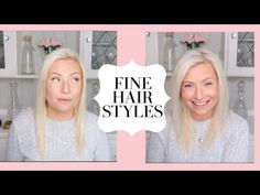 Hi Beautiful people, In today's video i will be showing you a few hacks for fine thin hair to make it look like it has more volume and also my go to quick an. Messy Bun Hairstyles, Easy Hairstyles For Medium Hair, Work Hairstyles, Braided Hairstyles Tutorials, Pretty Hairstyles, Bun Tutorials, Wedding Hairstyles, Layered Hairstyles, Homecoming Hairstyles