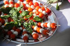 wedding reception in tuscany tomatoes