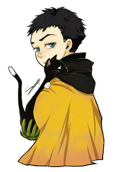 Damian with a cat.
