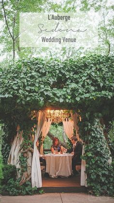 L'auberge, beautiful sedona wedding venue.  Photo by: Cameron and Kelly Arizona Wedding Photographers.
