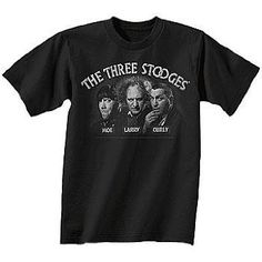 I found 'The Three Stooges (Moe, Larry, & Curly) Comedy Classics Black T-Shirt' on Wish, check it out!