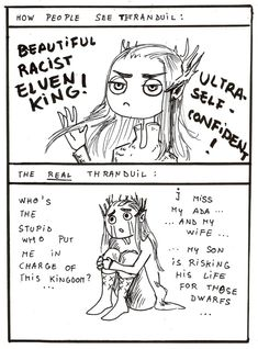 Image result for thranduil's scar