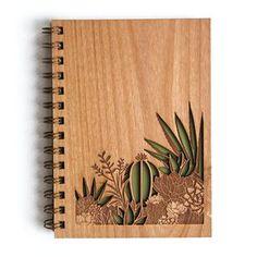 Jardín Botánico Lasercut madera diario del desierto