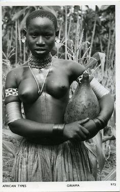 Giriama Woman Kenya