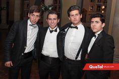 Tony, Rober, Marcelo y Javier.