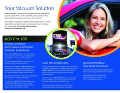 AGS PRO 100 Vacuum Man Hour, Car Wash, Vacuums, Cleaning, Sparkle, Home Cleaning, Vacuum Cleaners