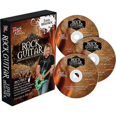 Learn Rock Guitar: Beginner, Intermediate, and Advanced (3-DVD package)…