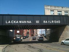 The bridge. Scranton,Pa