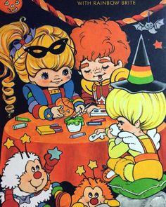 Rainbow Brite Halloween
