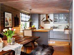 Ragnar, Tribal Decor, Cabin Interiors, Accent Furniture, Log Homes, Cabana, Sweet Home, Table, Design