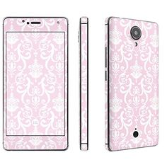 Buy [Amazon] [BLU R1 HD] Phone Skin - [SkinGuardz] Full Body Scratch Proof Vinyl Decal Sticker with [WallPaper] - [Pink Retro] for [BLU R1 HD] NEW for 4.45 USD | Reusell
