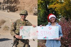 Military Family Christmas Card :)    My Brother and Sister-In-Law are so cute and creative!