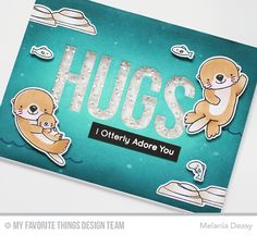 Hi everyone! I'm so excited today to share with you my first card for My Favorite Things  Januari New Release Countdown Day 4. As always thi...