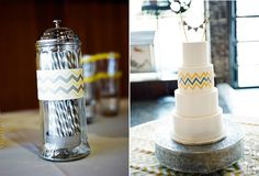 chevron wedding theme | Chevron patroon. Pinterested @ ... | Wedding theme: Chevron - Bruilof ...
