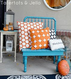 Last Minute Decorating: 5 Tips to a Pretty Fall Front Door and Porch