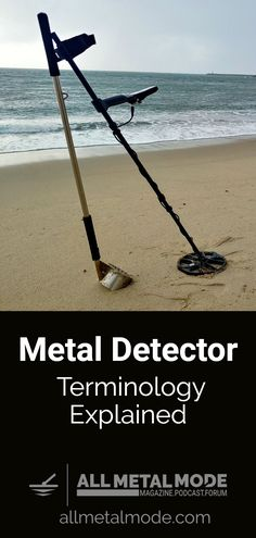 Metal detecting settings and terminology that every metal detectorist should know. See common terms and what they mean on your metal detector Metal Detecting Tips, Magnet Fishing, High Iron, Metal Detector, Myrtle, Types Of Metal, Outdoor Power Equipment, Make It Simple, Remodeling