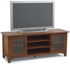 Flexsteel Furniture: Las Cruces Furniture Collection: Las CrucesEntertainment Base (6595-06EB)