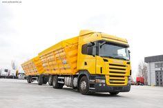 Склад техники с пробегом Scania в Украине пополнился грузовиками из Германии для сегмента аграрных перевозок.
