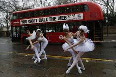 Ballet dancers protest in London   http://globenews.co.nz/?p=8734