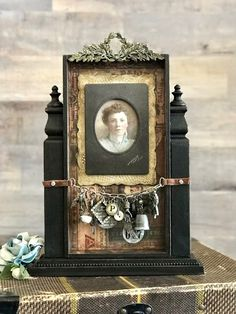 Scrapbooking, Lucky Day, Assemblage Art, Lost & Found, Photo Displays, Mixed Media Art, Shadow Box, Altered Art, Old Photos