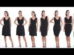 Sacha Drake Catelyn Convertible Dress - Womens Knee Length Dresses - Birdsnest Online