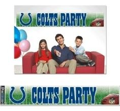 Indianapolis Colts Party Banner Z157-3208548838