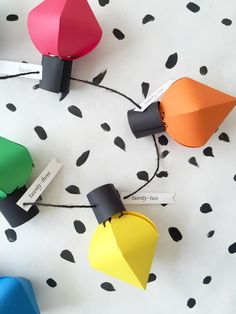 DIY Christmas bulb advent calendar
