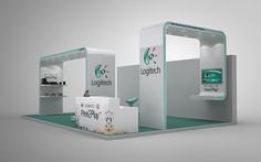 Logitech Exhibition Stall on Behance