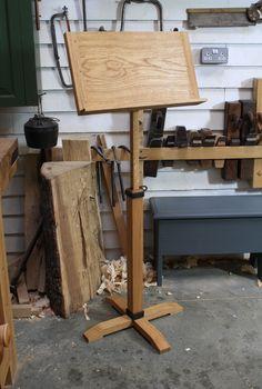 Hand made Oak Music Stand