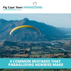 Mistakes that paragliding newbies make - mistakes are a reality of daily life, but in extreme sports like paragliding, even small errors can be dangerous. Rookie Mistake, Kids Studio, Table Mountain, Lots Of People, Paragliding, Making Mistakes, Entry Level, Extreme Sports, Tandem