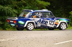 Lada in action