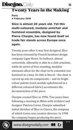 Disegno magazine review of Maison & Objet, Paris 2016 Ligne Roset, 20 Years Old, One Design, Highlights, Collections, Magazine, Paris, Thoughts, Montmartre Paris