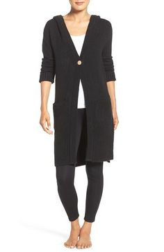 UGG® 'Judith' Hooded Knit Cardigan available at #Nordstrom