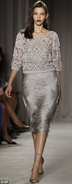 Marchesa SS14 this skirt is amazing!