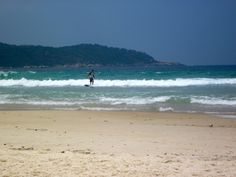 Surfing in Lopes Mendes