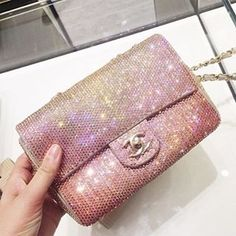 3251164980c8 Chanel Glitter Flap Bag Gorgeous like in fairytale story, the perfect  evening bag. Photo