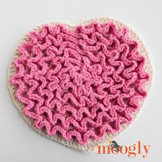 Love Wiggles is a trivet, a table decoration, a textured bit of crochet craftiness that will inspire you to get creative and celebrate love! And it's just plain fun to make! Disclaimer: This post includes affiliate links. I took the idea from the Wiggle It Trivet and upgraded it for Valentine's Day – or any [...]