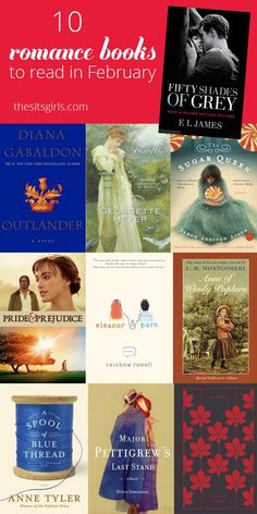 Romance Books For February Our favorite romantic books to read in February.Our favorite romantic books to read in February. Top Books To Read, Fiction Books To Read, Historical Fiction Books, Historical Romance, Best Romance Novels, Good Romance Books, Good Books, Romance Movies, Best Romantic Books