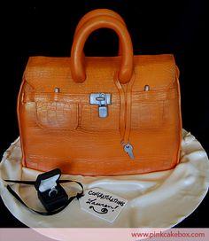 Handbag Bridal Shower Cake by Pink Cake Box