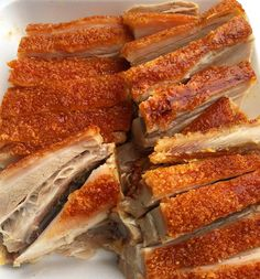 Happy Chinese New Year friends! Crispy pork is a big part of the traditional meal and finding the belly part where its a perfect distribution between fat and meat is key. Good tip: the skin MUST be crispy! (Chinatown LA)  What are your CNY food traditions? Tag #Live2Dine and share with us!  #lunarnewyear #chinesenewyear #tet #hongkong #cny #chinesefood #chinese #sundayfunday #crispypork #porkbelly #pork #porkbelly #dimsum by live2dine