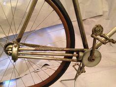 1890's Orient Shaft Drive Nickel Plate Bike Wood Rim | eBay Vintage Cycles, Vintage Bikes, Trike Scooter, Old Bicycle, Commuter Bike, Cool Bikes, Plates, Ann Arbor, Bicycles