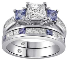 2.40 Carat Briley2 Diamond 14Kt White Gold Engagement Ring