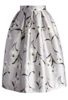 Jasmine Dairy Pleated Midi Skirt - New Arrivals - Retro, Indie and Unique Fashion